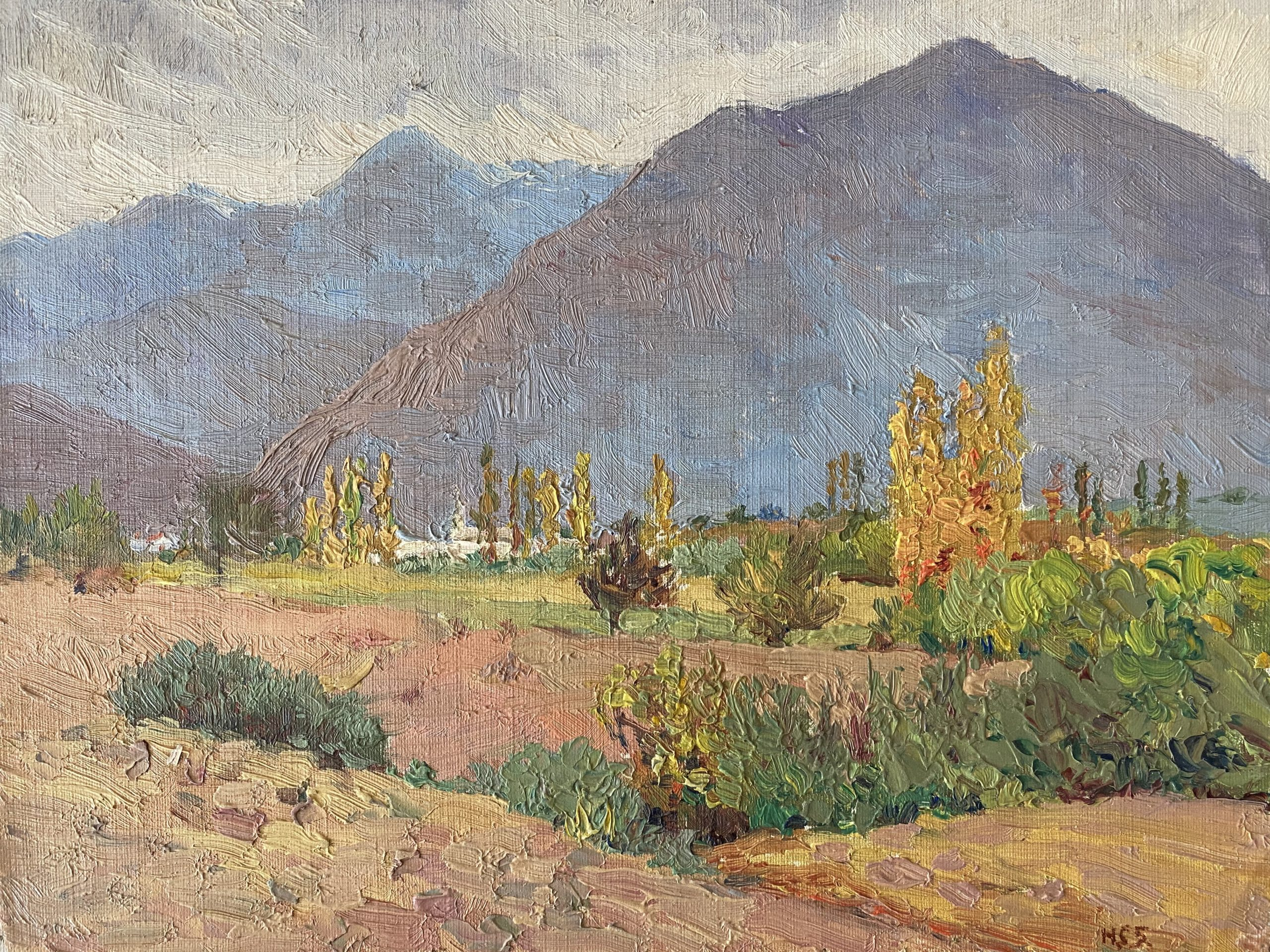 Houghton Cranford Smith Original Oil Painting
