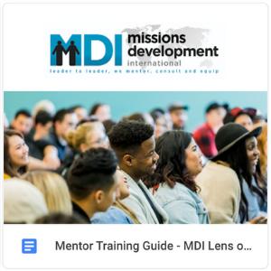 Guide - MDI Lens on Fundraising