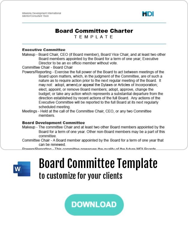 Thumbnail - Boards Committee Charters