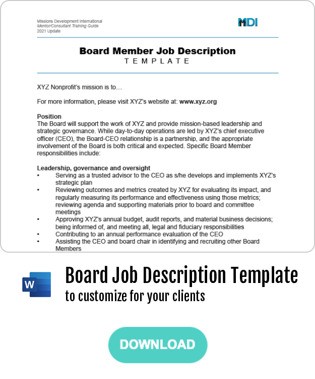 Thumbnail - Boards Job Description